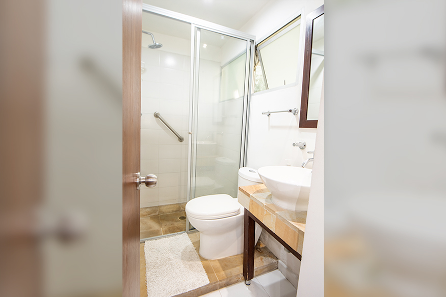 Aparta studios for rent in safe zones in Cali - Colombia. - Apartment 113
