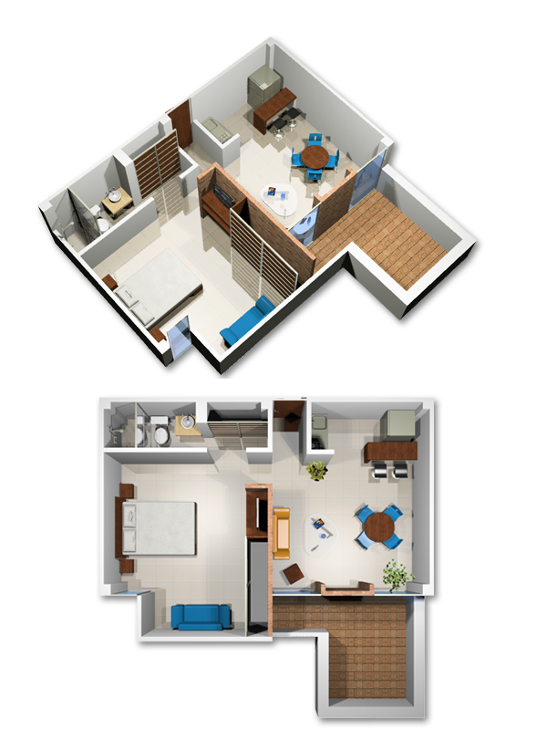 Modern furnished apartments in Cali - Colombia - Apartment 113
