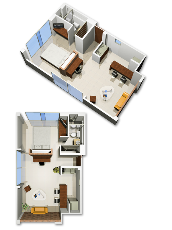 Modern furnished apartments in Cali - Colombia - Apartment 117