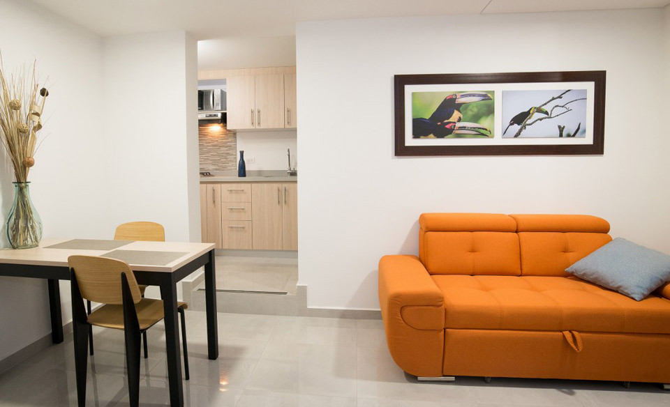 Furnished appartment with all you need in Cali - Colombia. Safe Zone - Apartment 201