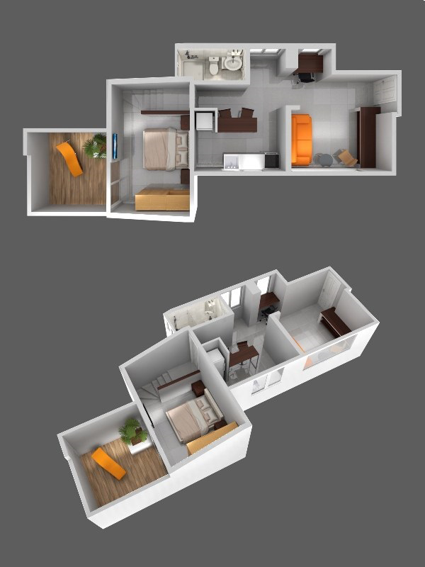 Modern furnished apartments in Cali - Colombia - Apartment 204