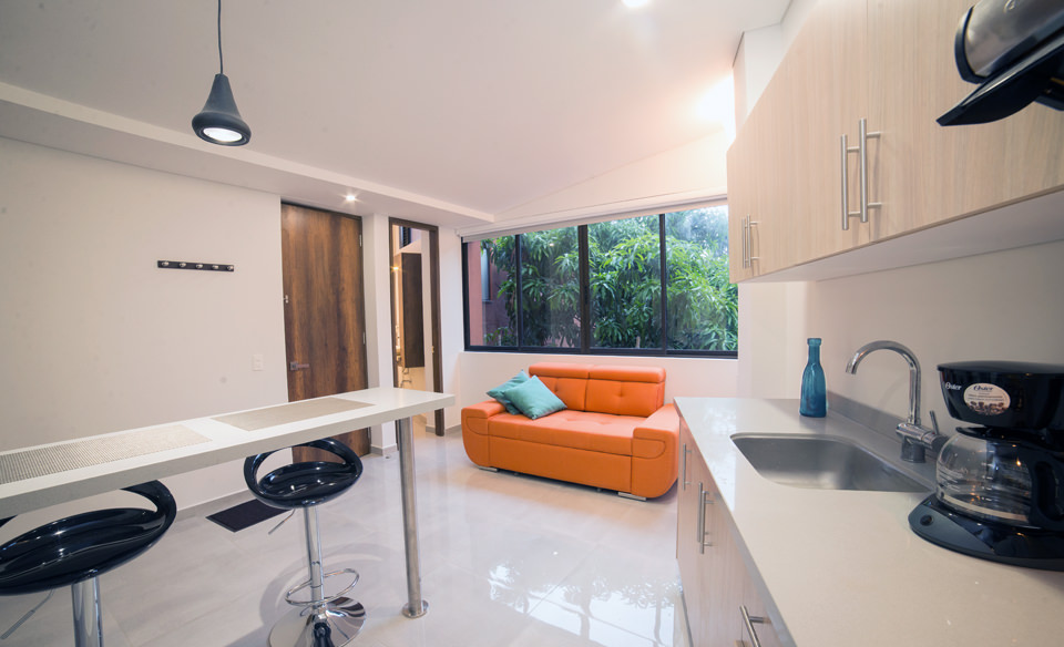 Furnished appartment with all you need in Cali - Colombia. Safe Zone - Apartment 205