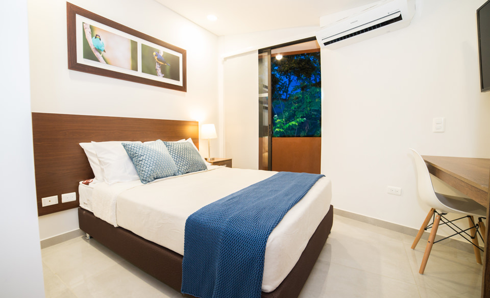 Furnished apartments in Cali - Colombia - Apartment 205