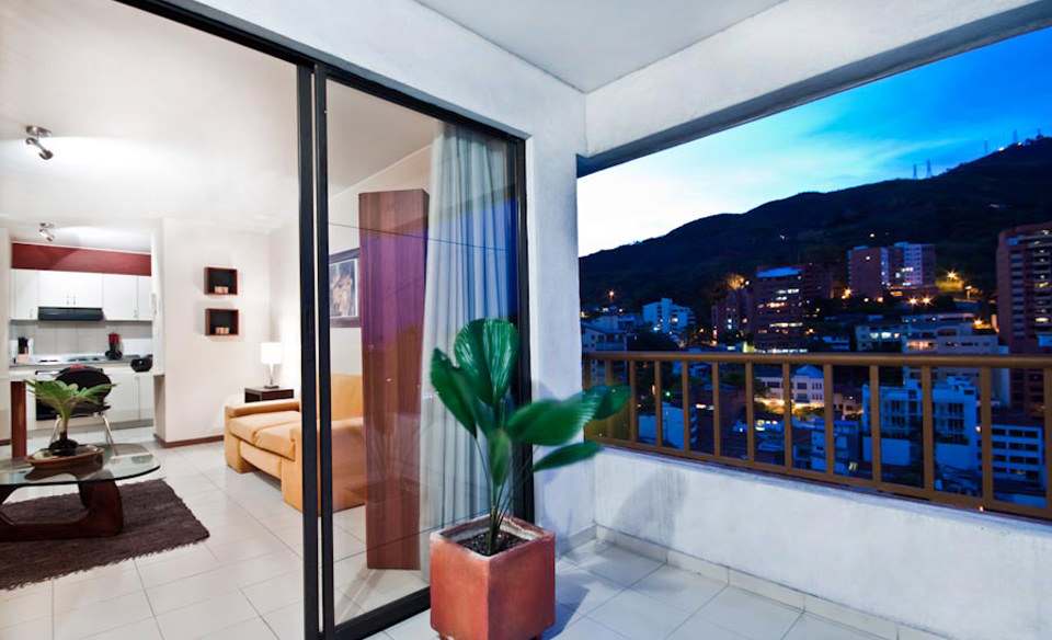Dialy rental of furnished apartments in cali - colombia.